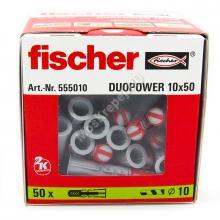 Дюбель Fischer DUOPOWER 10x50 универсальный