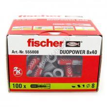Дюбель Fischer DUOPOWER 8x40 универсальный