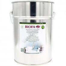 BIOFA 5177 Лазурь для дерева на водной основе. Белая. 10 л.