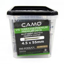 Саморезы CAMO 4.5x55 для террасной доски и фасадов