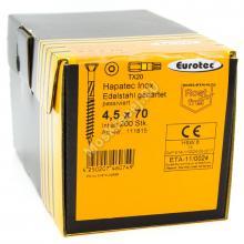 Саморез Eurotec 4.5x70 Hapatec из нержавейки
