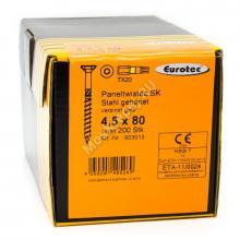 Eurotec 4.5x80 Paneltwistec Потайная головка