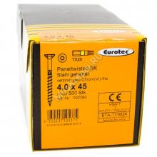 Саморез Eurotec 4x45 Paneltwistec