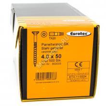 Eurotec 4x50 Paneltwistec Потайная головка