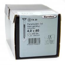 Саморез Eurotec 4x80 Paneltwistec