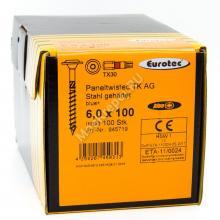 Eurotec 6x100 Paneltwistec AG Тарельчатая головка