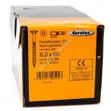 Саморез Eurotec 6x60 Paneltwistec