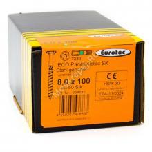 Eurotec 8x100 ECO PT Потайная головка