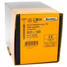 Eurotec 8x100 ECO PT Тарельчатая головка