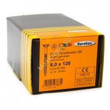 Eurotec 8x120 ECO PT Потайная головка