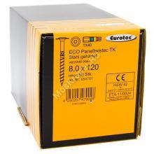 Eurotec 8x120 ECO PT Тарельчатая головка