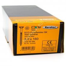 Eurotec 8x160 ECO PT Потайная головка