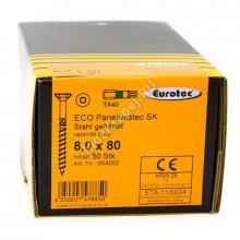 Eurotec 8x80 ECO PT Потайная головка