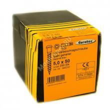 Шурупы Eurotec 5x50 для перфорированного крепежа
