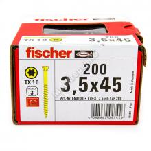 Fischer FTF-ST 3,5x45 YZP 200