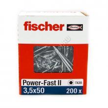 Саморезы Fischer 3,5x50 для ДСП