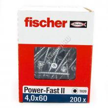 Саморезы Fischer 4x60 для ДСП