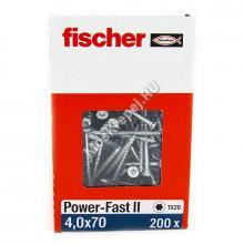 Саморезы Fischer 4x70 для ДСП