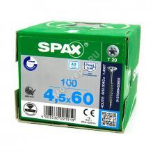 Саморез универсальный SPAX 4,5x60 А2 нержавейка