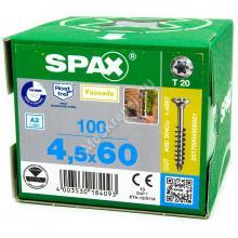 Саморез для планкена SPAX 4.5x60