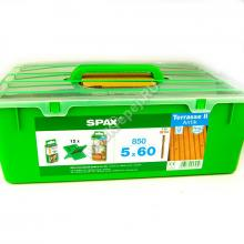 Комплект саморезов для террасной доски SPAX D 5x60 Антик