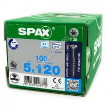 Саморез универсальный SPAX 5x120 А2 нержавейка