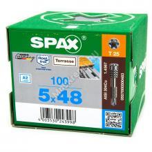 Саморезы SPAX D 5x48 флюгель из нержавейки