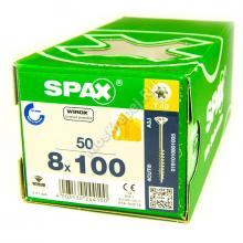 Конструкционные саморезы SPAX 8x100 потайная головка