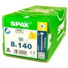 Саморезы для деревянных конструкций SPAX 8x140
