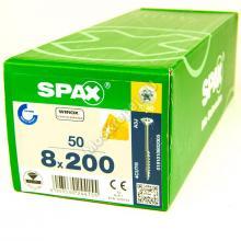 Саморезы для деревянных конструкций SPAX 8x200