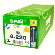 Саморезы для деревянных конструкций SPAX 8x220