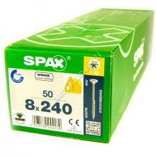 Саморезы для деревянных конструкций SPAX 8x240