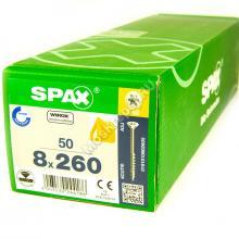 Саморезы для деревянных конструкций SPAX 8x260