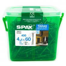 Саморез для фасадной доски SPAX 4.5x60 А2