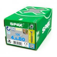 Саморез SPAX 4.5x80 для фасадной доски