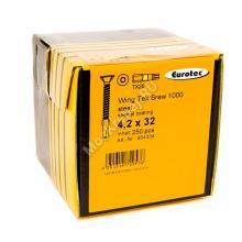 Саморезы Eurotec 4,2x32 для крепления дерево к металлу