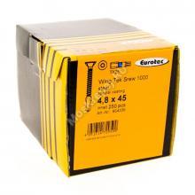 Саморезы Еurotec 4,8x45 для крепления дерево к металлу