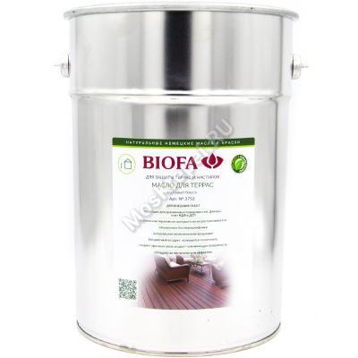 BIOFA 3753 Масло для террас 10 л.