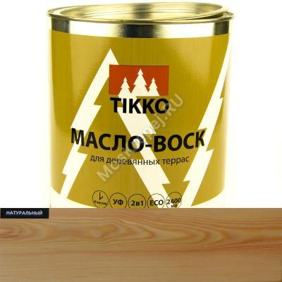 Масло-Воск для наружных работ TIKKO (Натуральный)