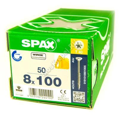 Саморезы для деревянных конструкций SPAX 8x100