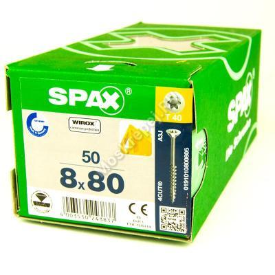 Саморезы для деревянных конструкций SPAX 8x80