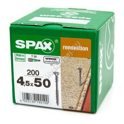 Саморезы SPAX 4.5x50
