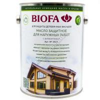 BIOFA 2043 Масло для наружных работ с антисептиком 2.5л