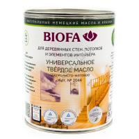 BIOFA 2044 2 Универсальное твердое масло 1 л.