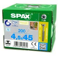 Саморез SPAX 4.5x45 для планкена