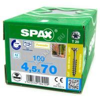 Саморез SPAX 4.5x70 из нержавейки
