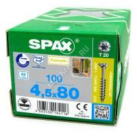Саморез SPAX 4.5x80 из нержавейки