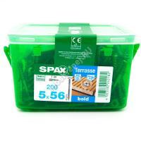 Саморезы SPAX 5,0х56 с прессшайбой из нержавейки