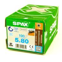 Саморез для террасной доски SPAX D 5x80